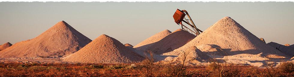Coober Pedy australia cidade subterranea minas