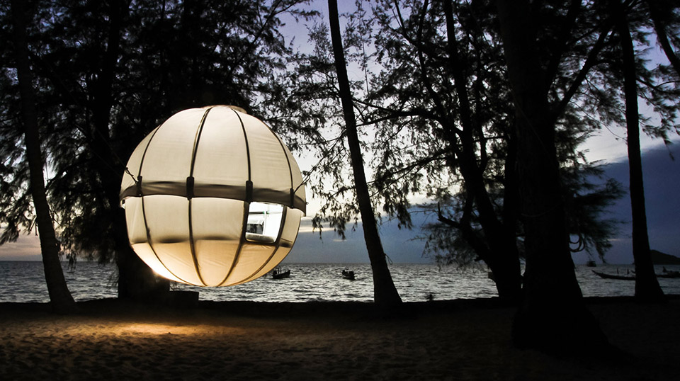 Cocoon-Tree-Tent tenda suspensa
