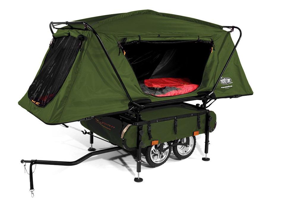 Kamp-Rite-Midget-Bushtrekka-Bicycle-tenda atrelado