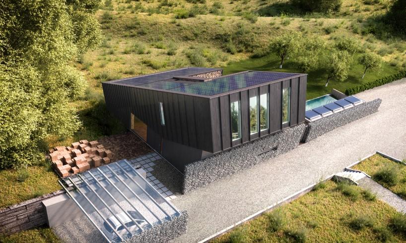 Snøhetta casa sustentável