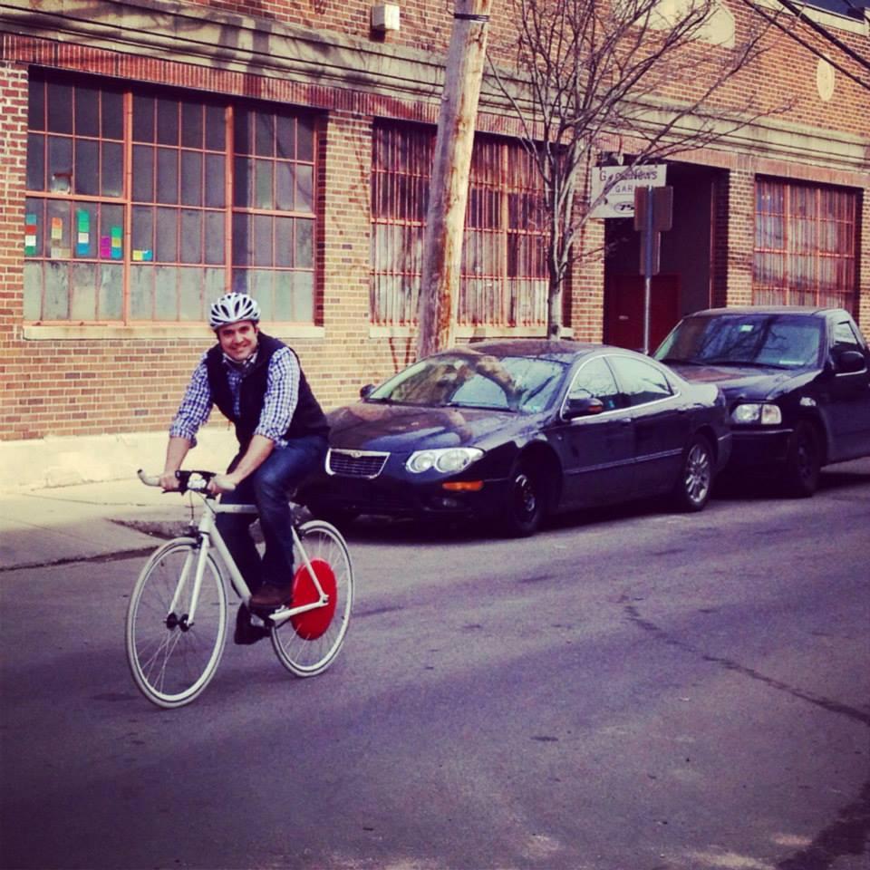 bicicleta elétrica híbrida copenhagen wheel