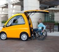 carro elétrico para utilizadores de cadeira de rodas