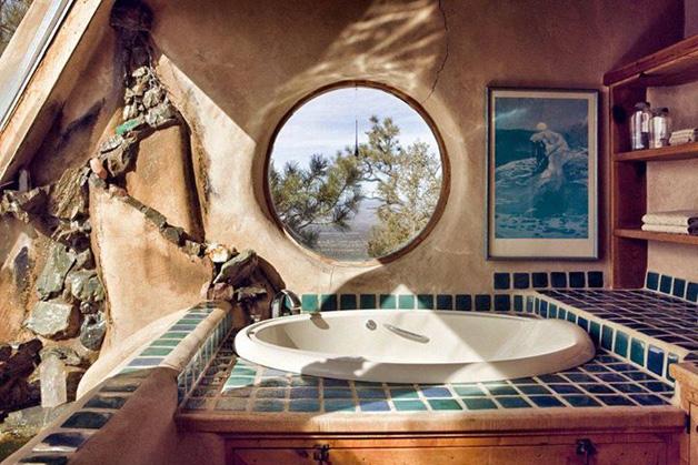 casa de banho casas mais sustentáveis do mundo Earthship