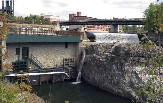 central hidroelétrica barragem burlington renewable energies