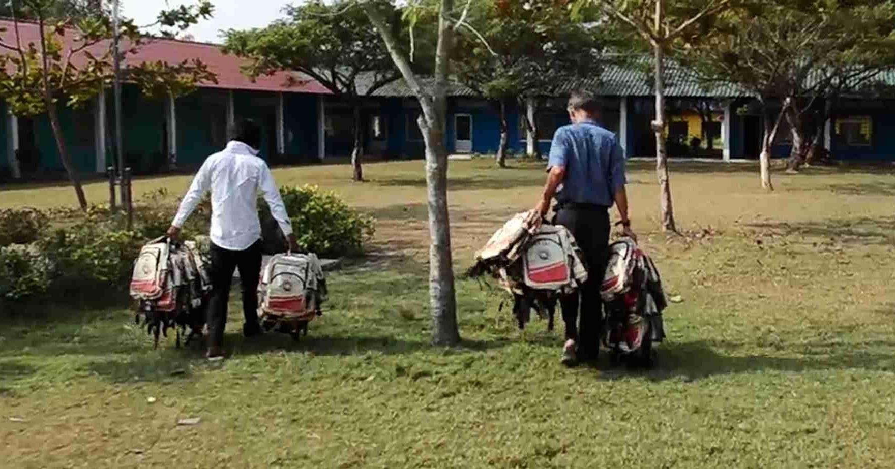 donação escola elephant branded