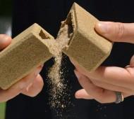 embalagem de areia ecológica sand packaging
