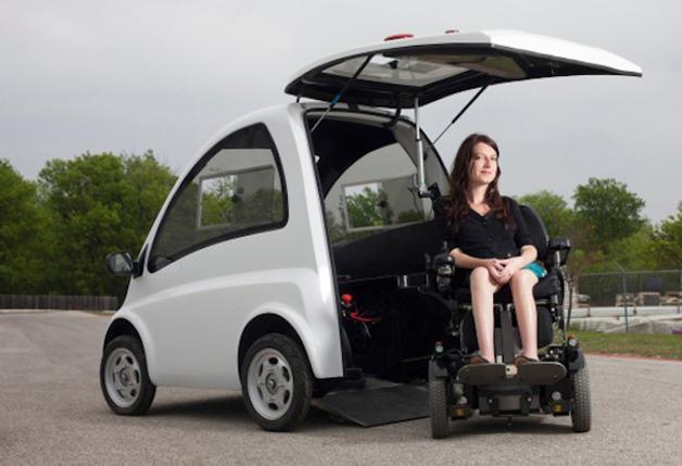 kenguru carro elétrico deficientes motores cadeira de rodas