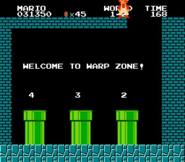 mario-warp-zone-jogos lições