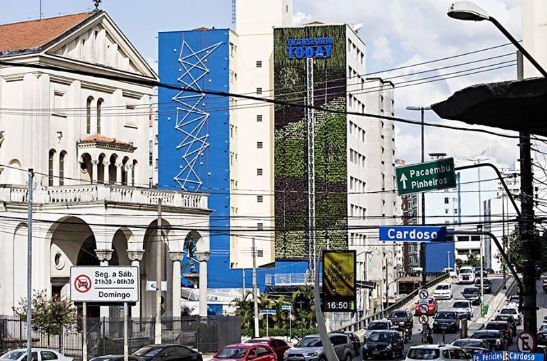parede viva jardim vertical prédio brasil movimento90-c