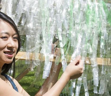 telhas de plástico reciclagem