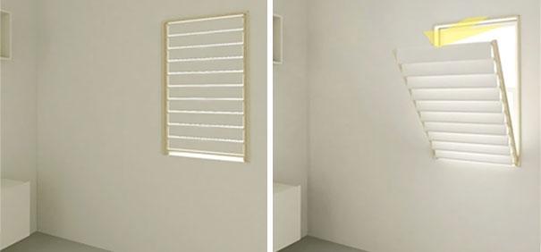 Ideias para poupar espaço em casas pequenas janelas