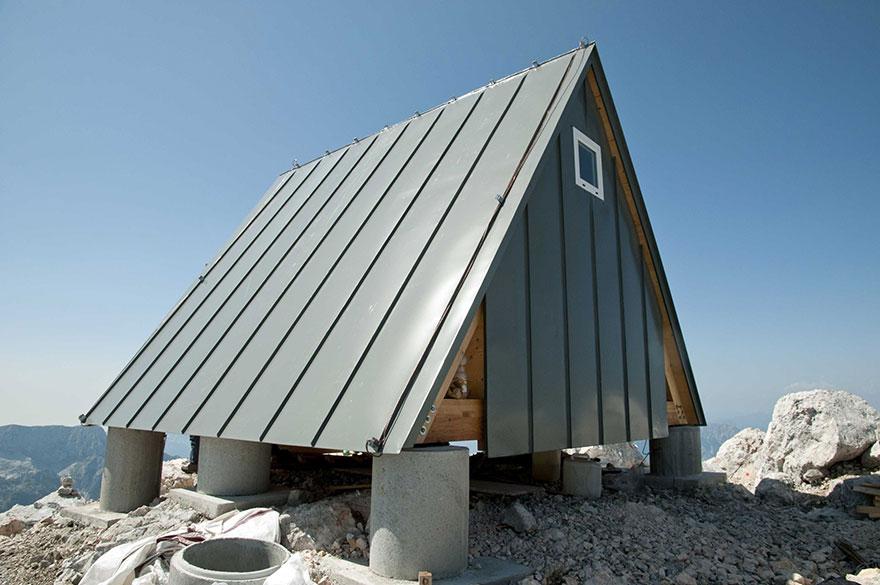 Luca Vuerich montanhista cabana