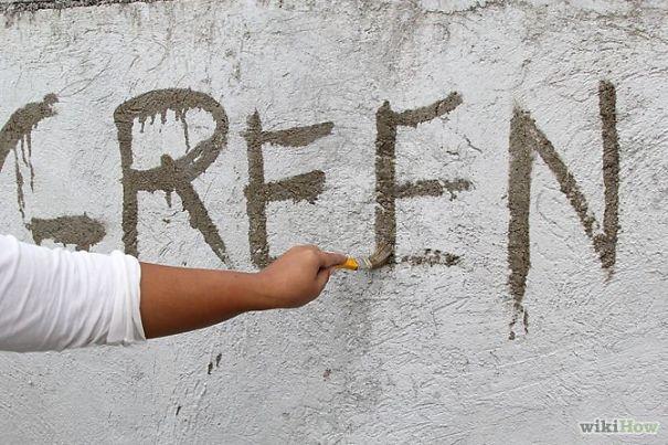 arte urbana graffiti de musgo