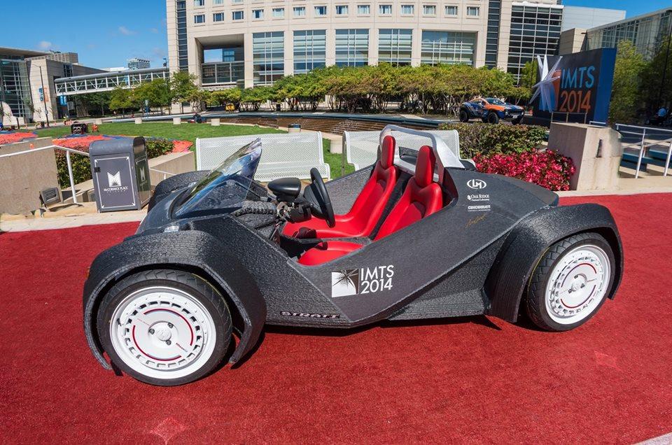carro personalizado 3d strati
