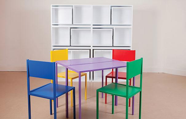 espaços pequenos mesas cadeiras