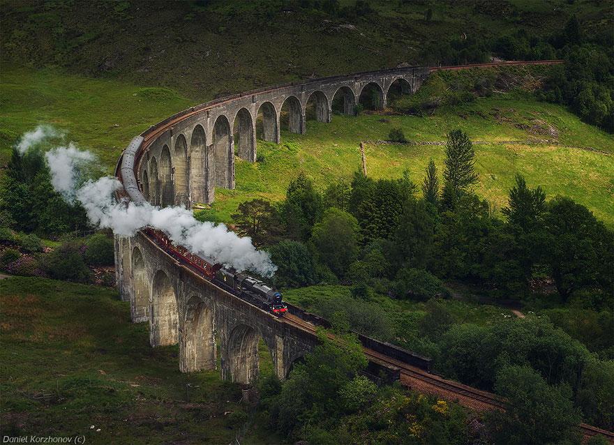 glenfinnan viaduto escócia