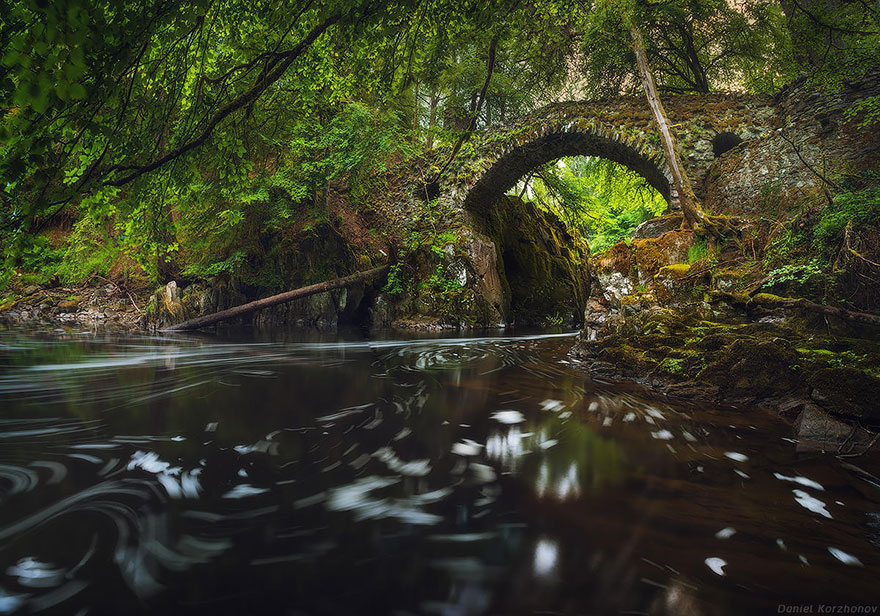 hermitage escócia