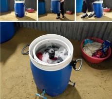 máquina de lavar roupa a pedal GiraDora Peru