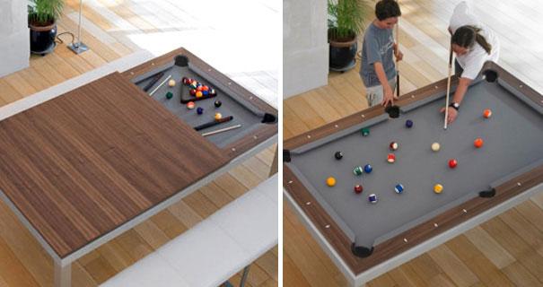 mesa de jantar snooker