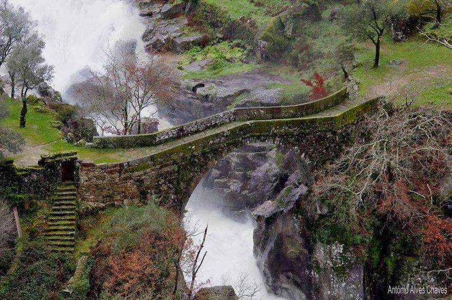ponte da misarela gerês portugal