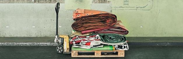 reciclagem de malas
