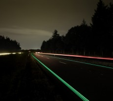 smart highways roosegaarde holanda