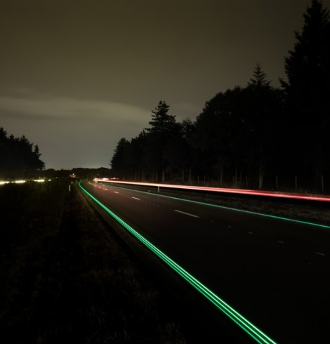 smart highways roosegaarde holanda