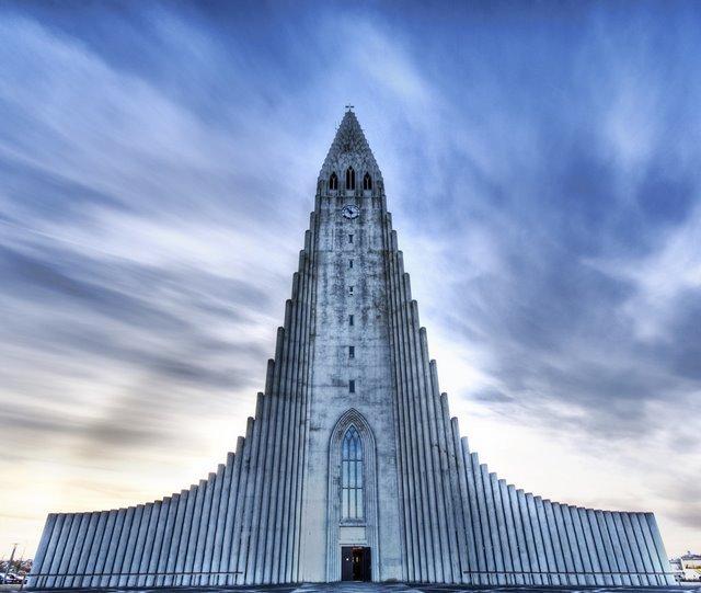 Igreja de Hallgrimur (Reiquiavique , Islândia)
