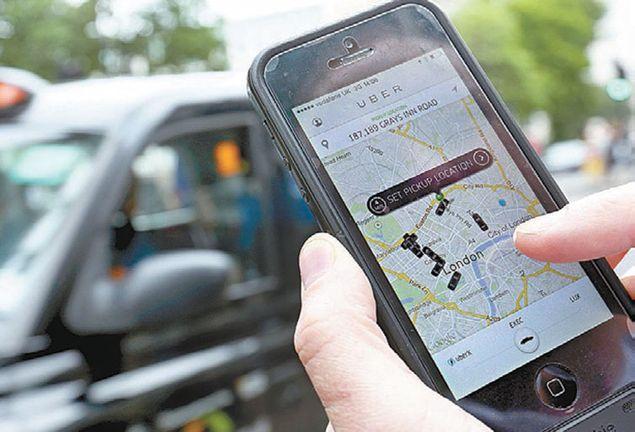 aplicação uber iphone boleia