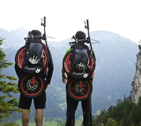 bicicleta mochila ciclismo downhill