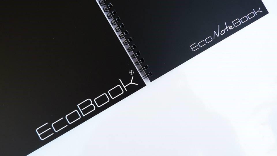caderno reutilizável ecobook