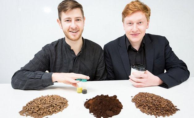 café biodisel pellets reciclagem bio bean