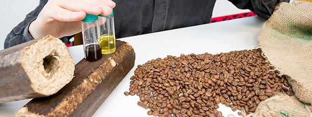 cafe biocombustível reciclagem