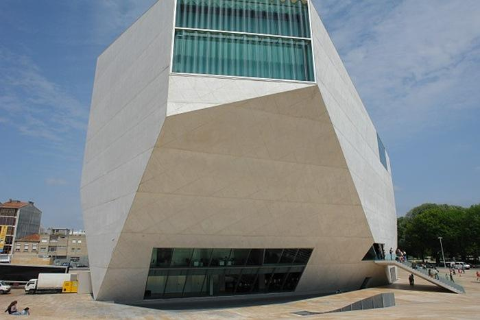 casa da música portugal porto edifícios estranhos