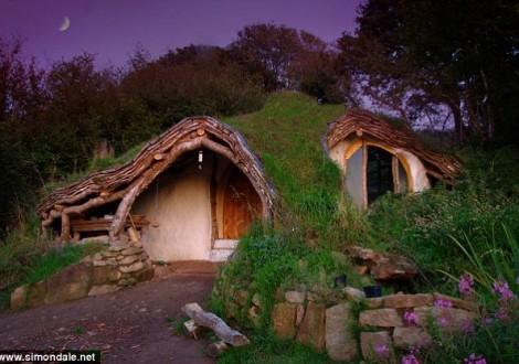casa hobbit sustentável