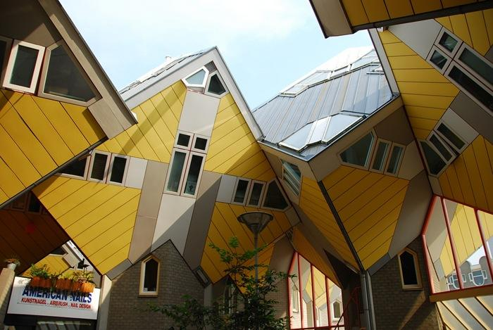 casas Cúbicas (Kubus woningen) (Roterdão, Holanda)