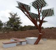 eTree árvore solar israel