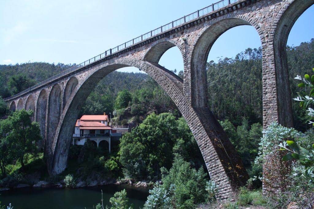 ponte pôço de Santiago Sever do Vouga