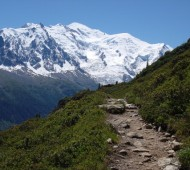 Mont Blanc paisagem monte branco alpes