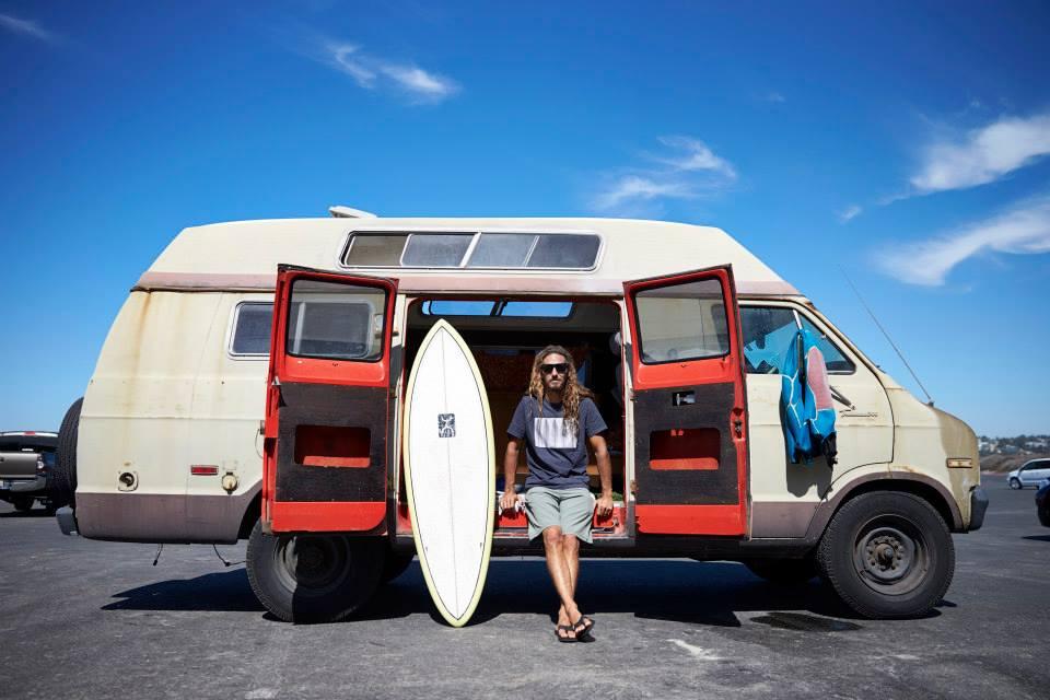 Rob Machado prancha de surf sustentável