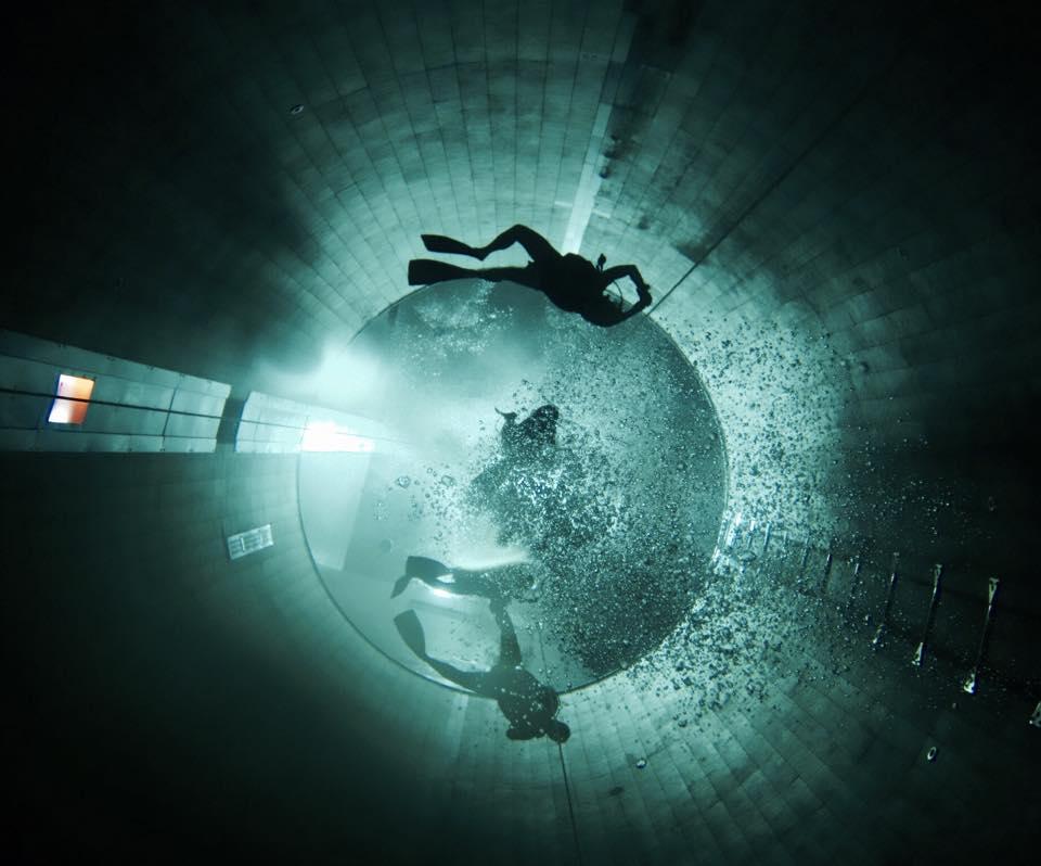 Y-40 The Deep piscina mais profunda do mundo