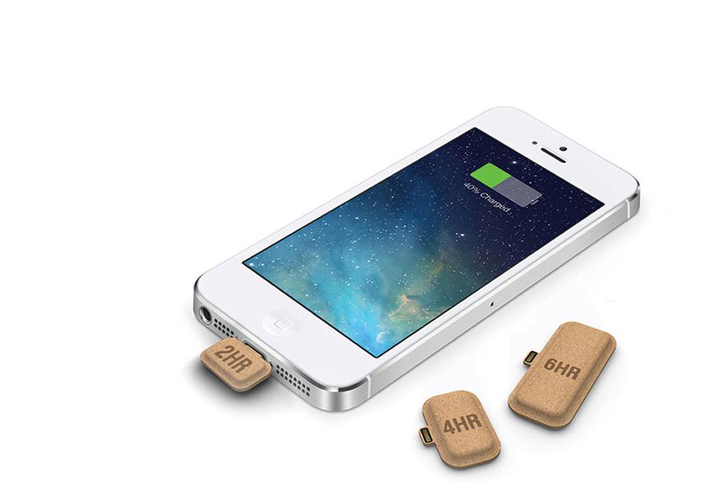 carregador de telemóveis de papel