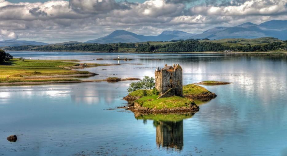 castelo 1 Stalker Castle Escócia