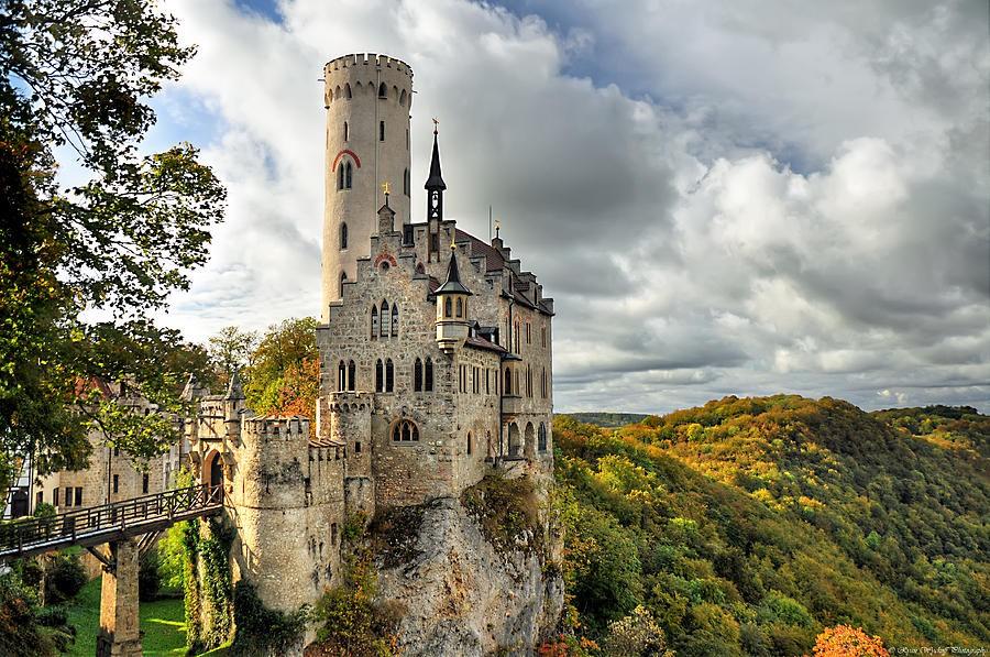castelo 4 Lichtenstein alemanha