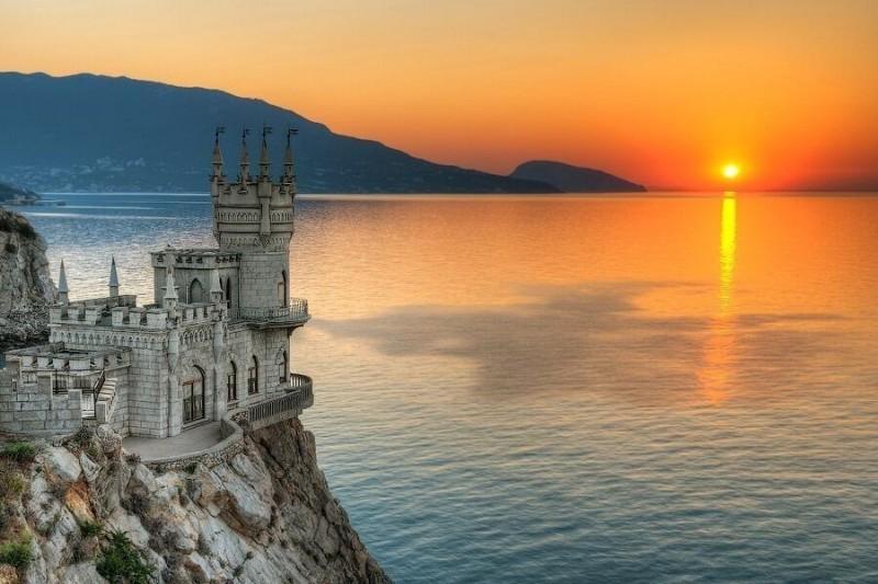 castelo 6 palácio Swallow's Nest Palace Crimeia Ucrânia