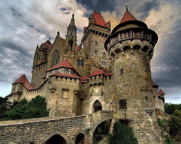 Burg Liechtenstein Austria