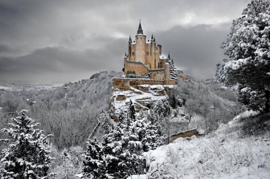 castelo 9 Alcázar of Segovia Espanha