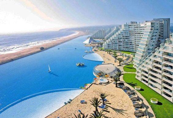 maior piscina do mundo chile