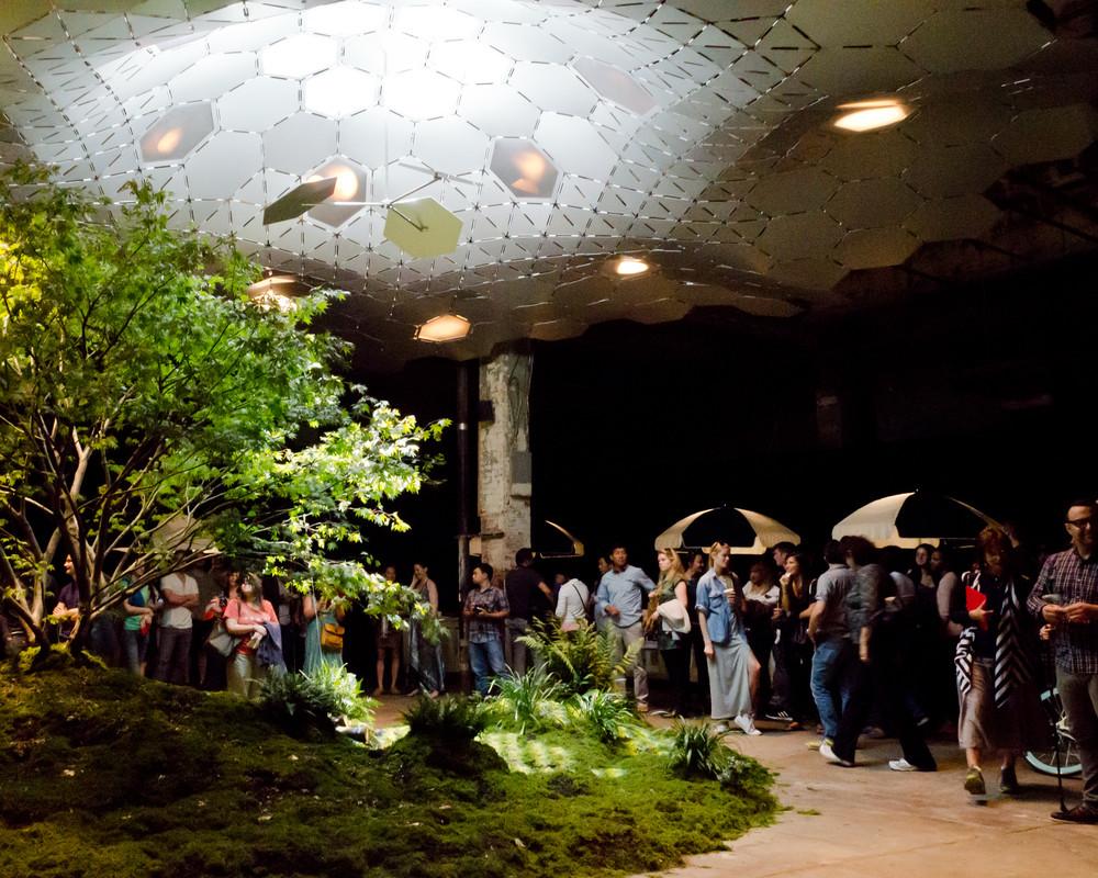 parque subterrâneo exposição new york