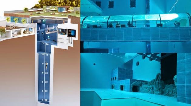 piscina mais profunda do mundo